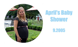 April's Baby Shower